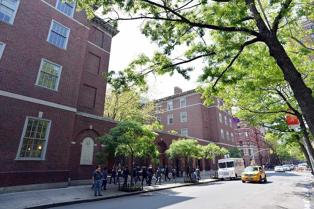 Vanderbilt Hall, part of New York University School of Law