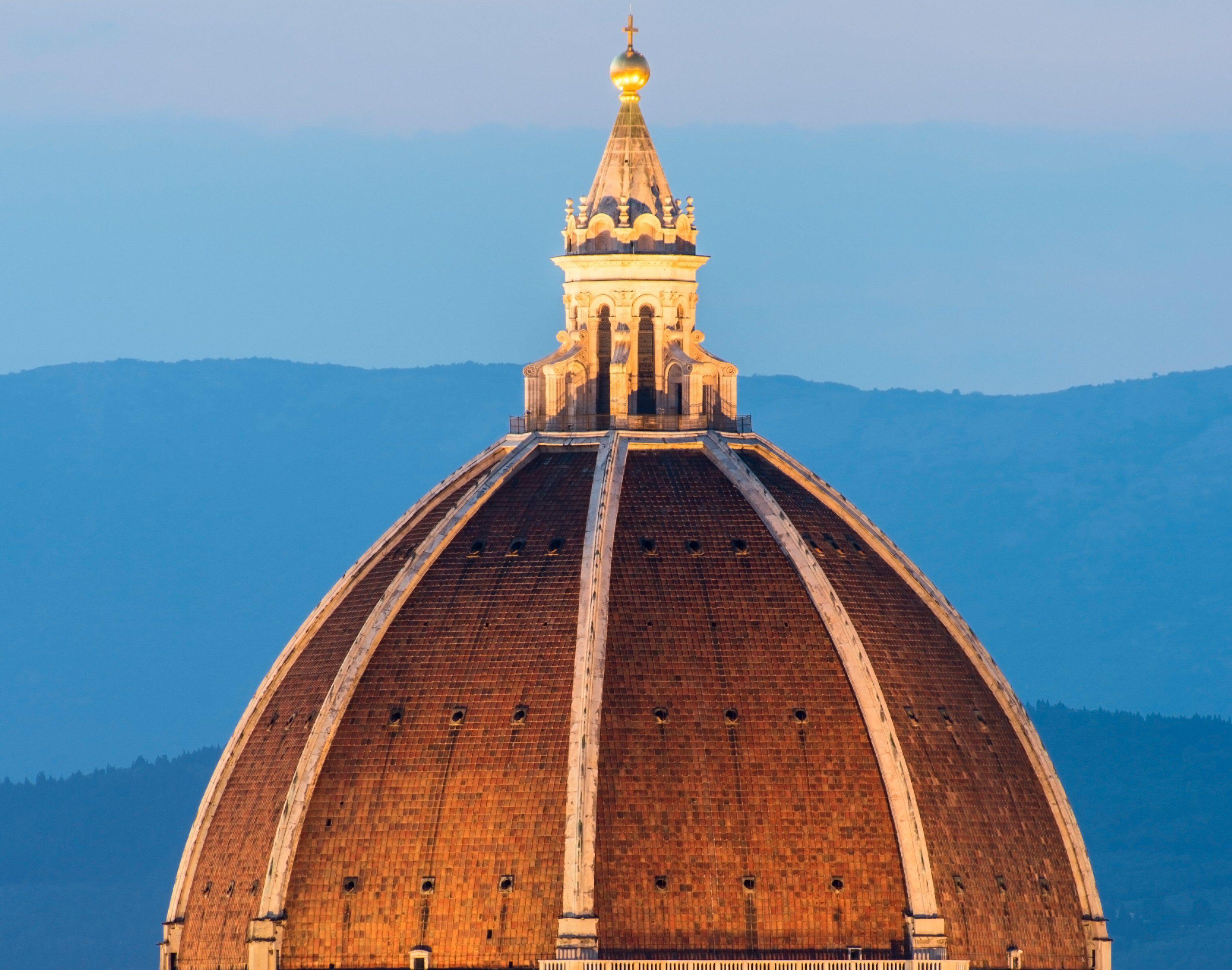 Lantern cupola atop Brunelleschi's Dome, Florence, Italy, c. 1460