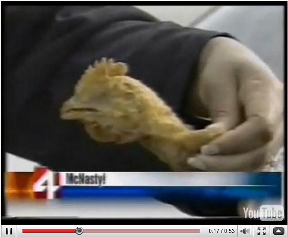 chicken head mcnuggets