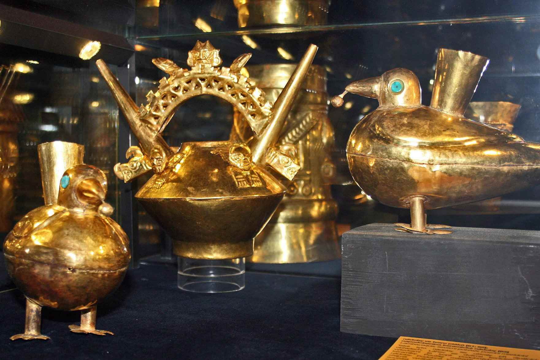 Prague Inka Gold exhibition