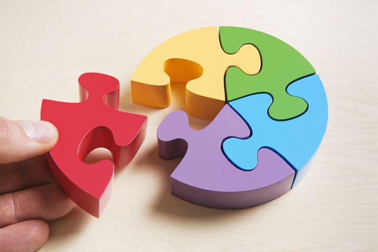 Five Piece Puzzle