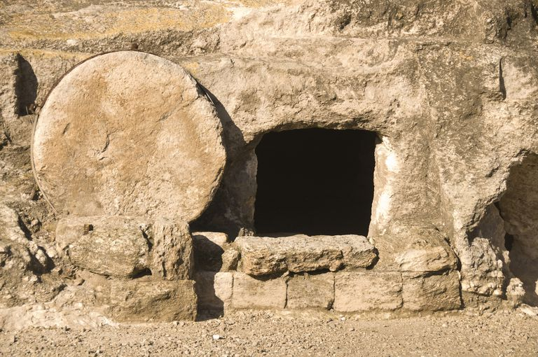 Empty tomb like that of Jesus