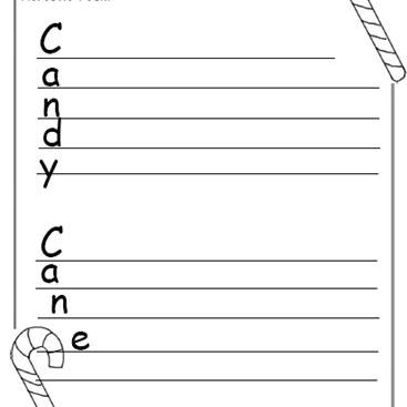 Christmas Writing Printables to Format Christmas Writing