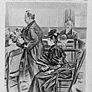Prozess gegen Lizzie Borden.