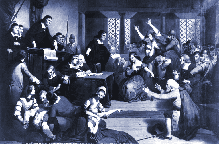 Salem Witch Trial - Trial of George Jacobs
