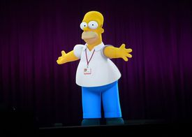 FOX's 'The Simpsons' Panel - Comic-Con International 2014