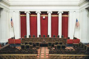 The chambers of the U.S. Supreme Court.