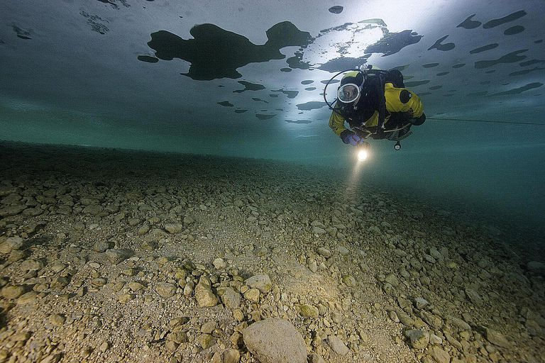 Ice Diving, Drysuit Diving, Technical Diving