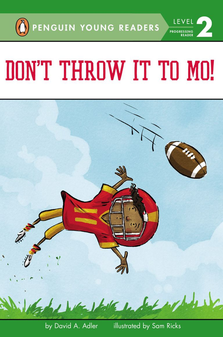 Don't Throw It To Mo! - cover of Level 2 book for beginning readers