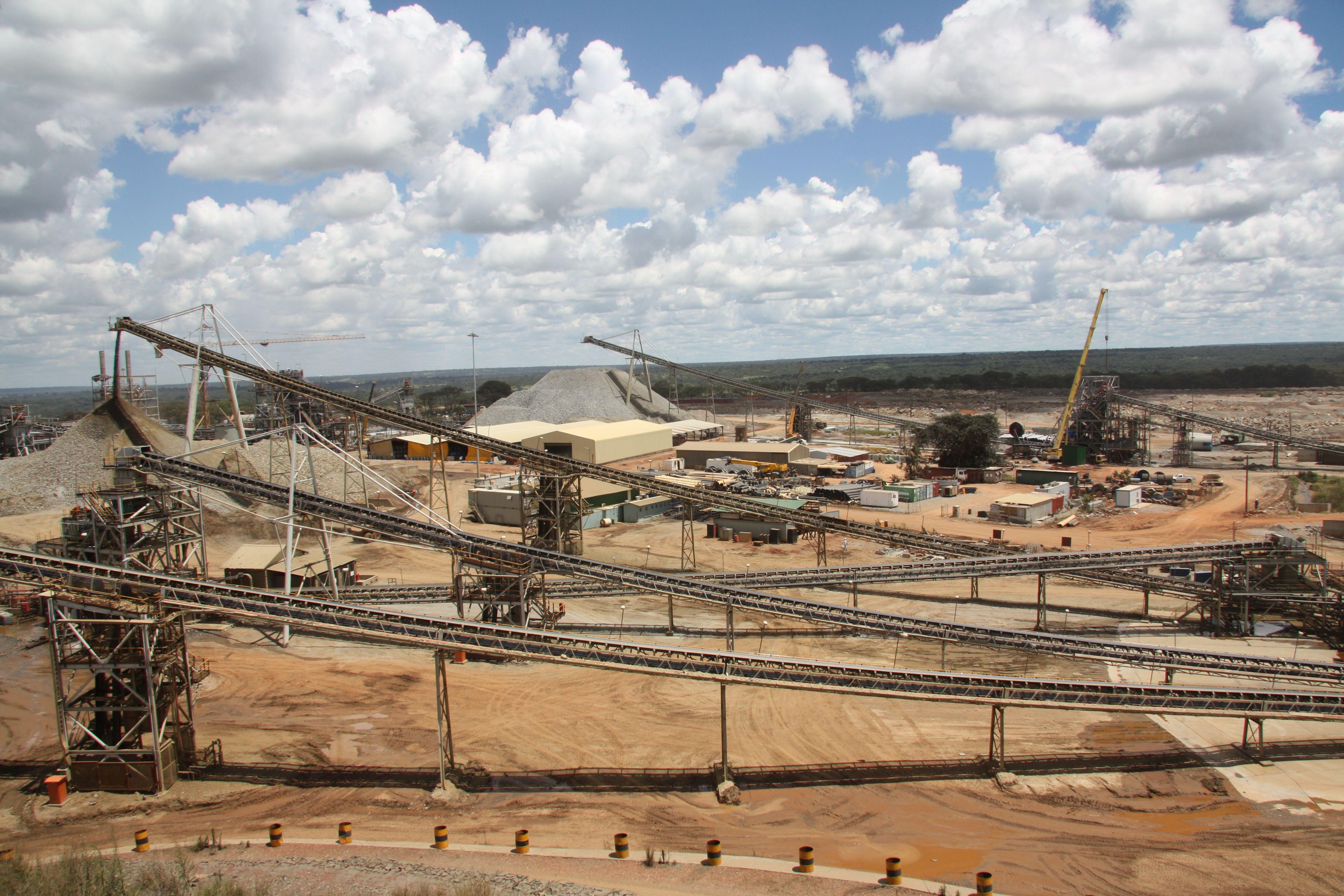 Kansanshi copper mine