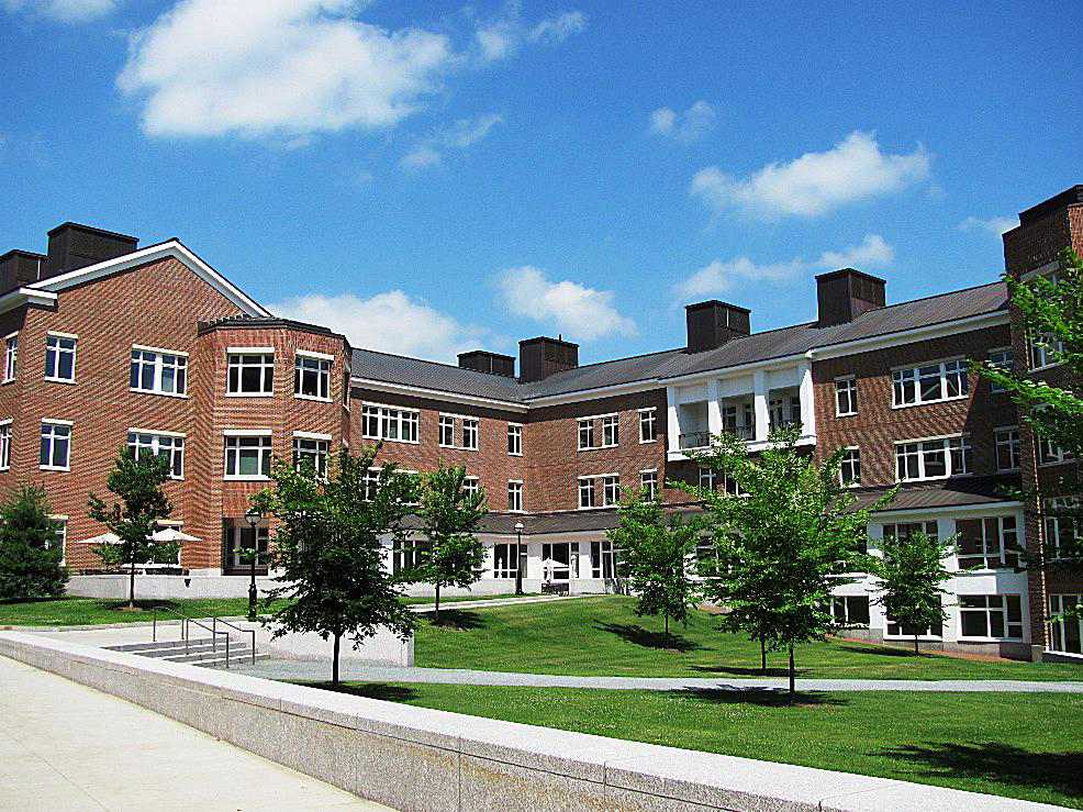 Kemeny Hall and Haldeman Center at Dartmouth College