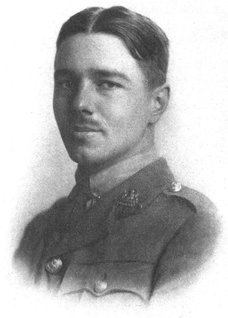 A portrait of Wilfred Owen