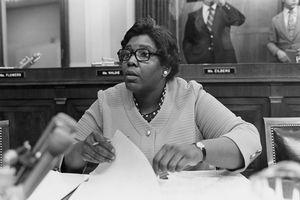 Barbara Jordan in congress