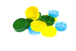 Bottle caps made of PBT