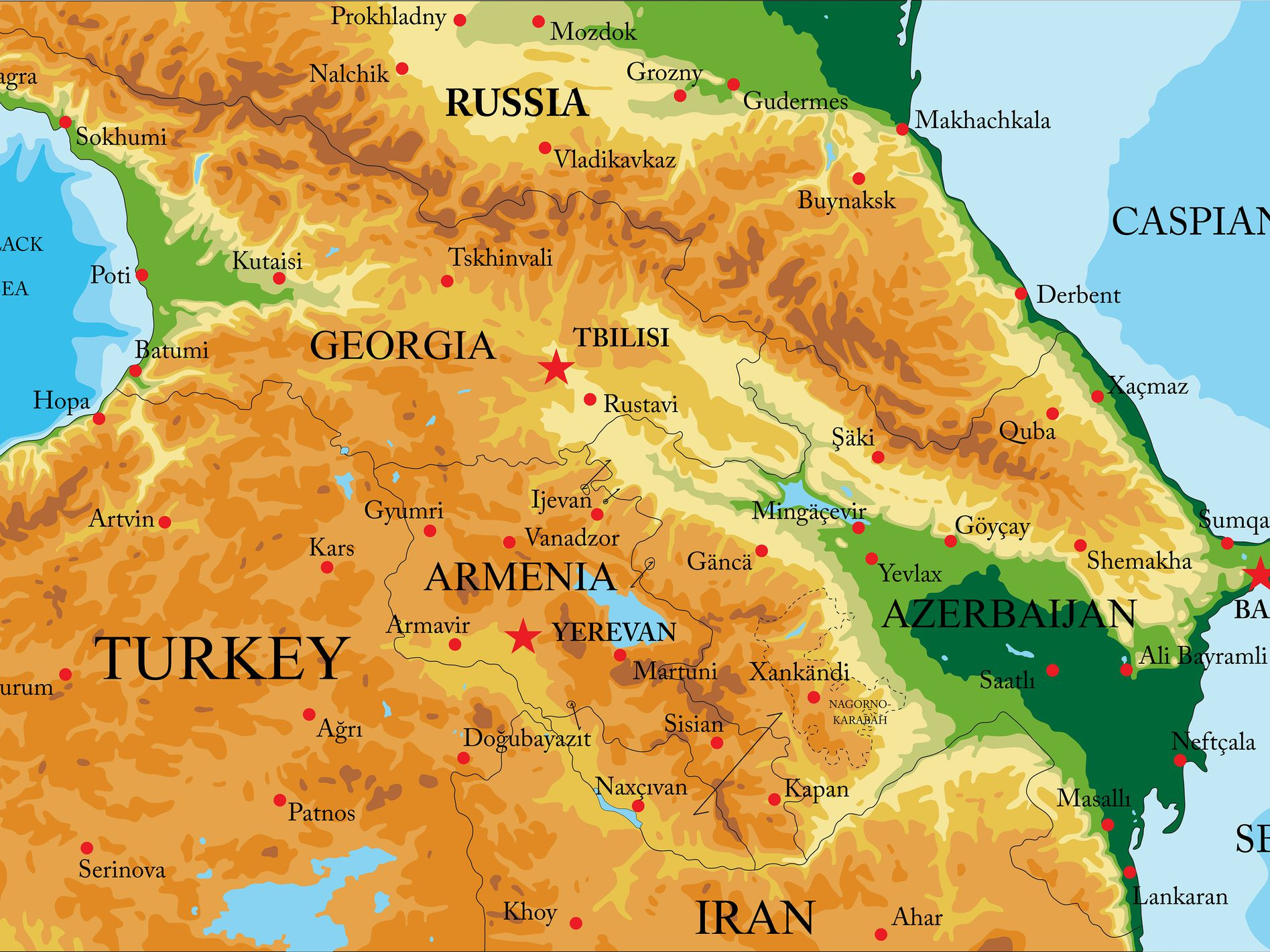 Picture of: Are Georgia Armenia And Azerbaijan In Asia Or Europe