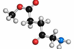 Methyl aminolevulinate drug molecule