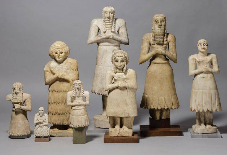 The Asmar Statues, ca 2900-2500 BCE