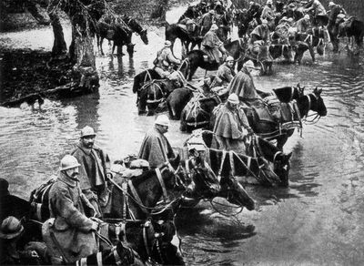 The creeping barrage of ww1 theory and practice bleeding france to death battle of verdun in wwi publicscrutiny Choice Image