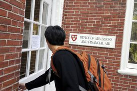 Admissions Office at Harvard University