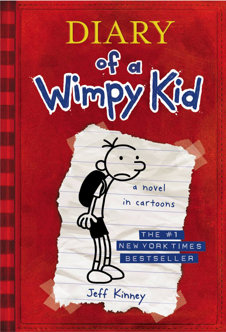 Diary of a Wimpy Kid - Cover of Book One