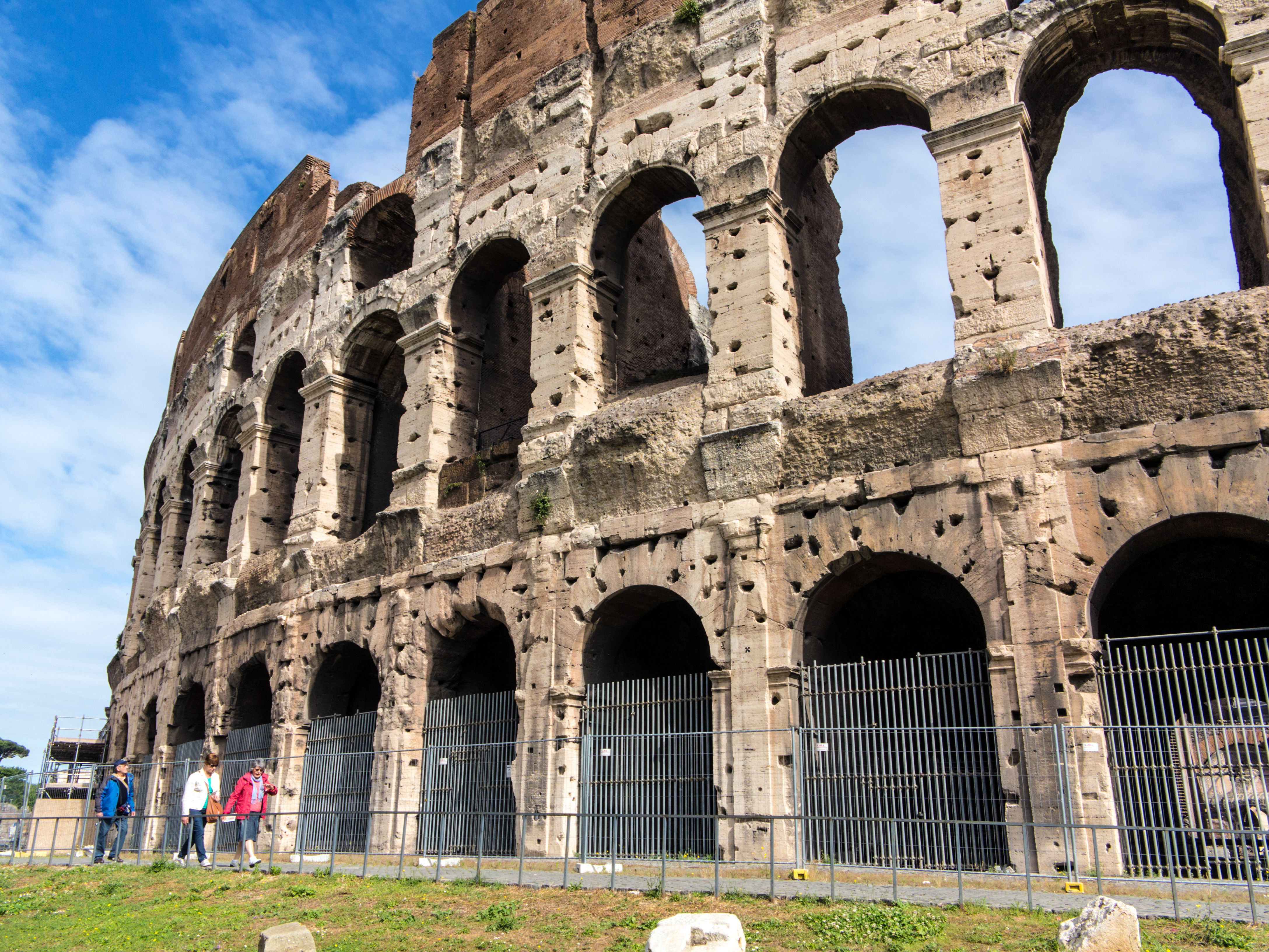 The truly colossal Colosseum