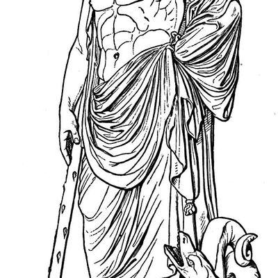 Greek God Apollo Asclepius