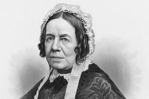 Portrait of Magazine editor Sarah Josepha Hale