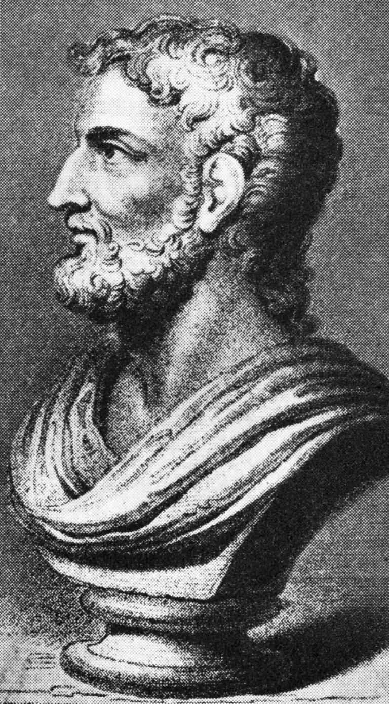 Bust of Cornelius Tacitus