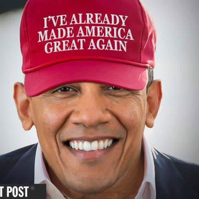 Obama Already Made America Great Again