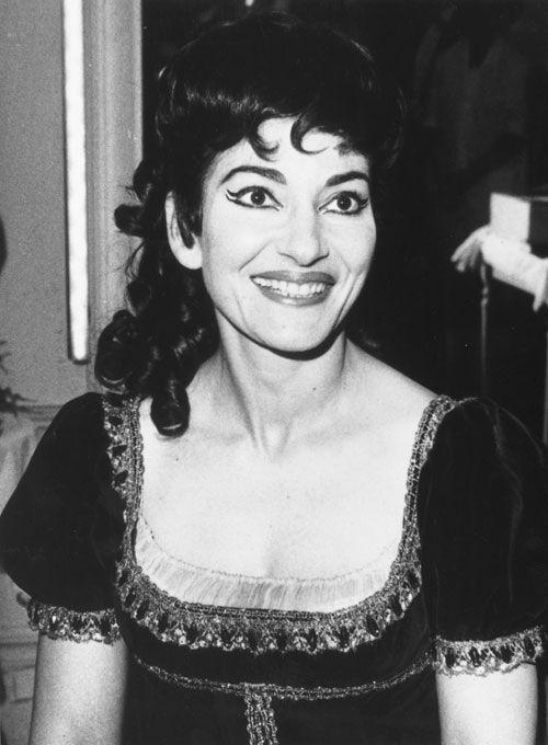 Maria Callas, soprano