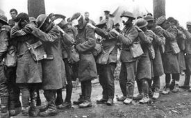 British gas casualties (April 1918)