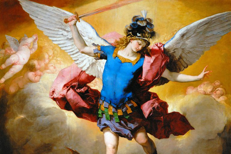 Illustration of Archangel Michael