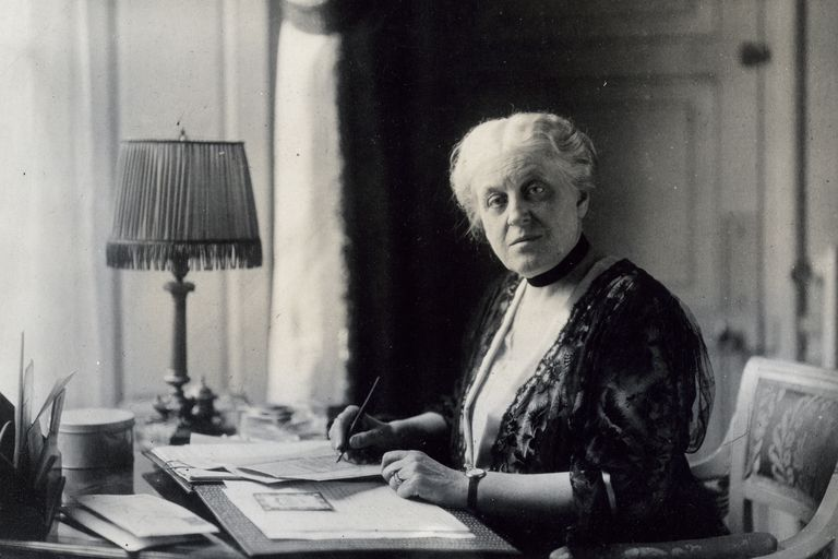 Carrie Chapman Catt in the 1920s