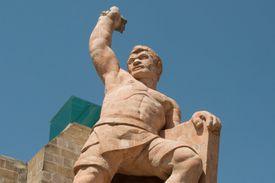 Statue of Pipila in Guanajuato
