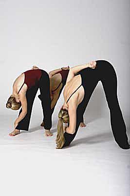 Right leg stretch