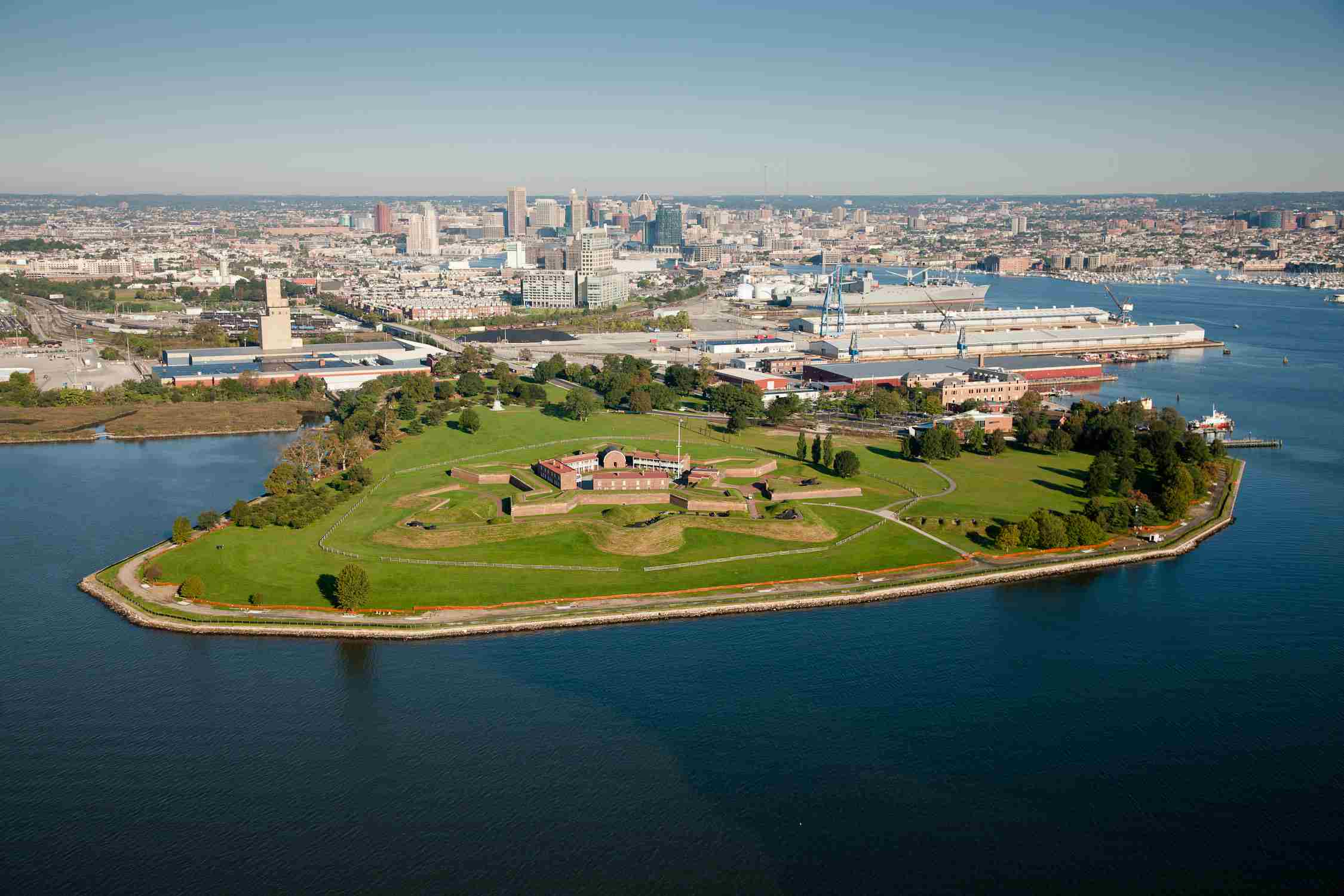 Fort McHenry and the City of Baltimore