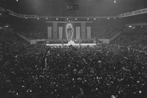 photo of German American Bund rally at Madison Square Garden