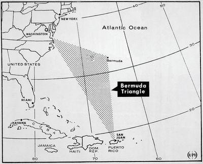 1971 Ufo Over Bermuda Triangle Story