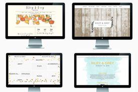 Riley & Grey Wedding Website templates
