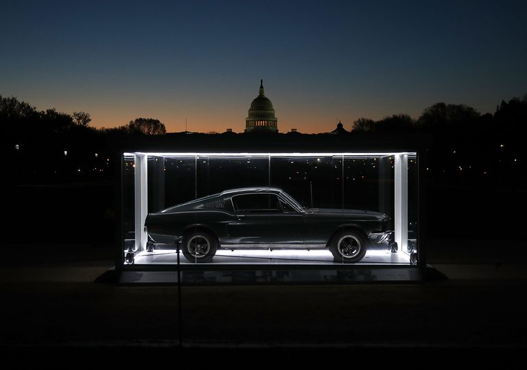 Famous 'Bullitt' Mustang On Display On National Mall In D.C.