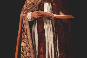Portrait of Pope Gregory I by Francisco de Zurbaran