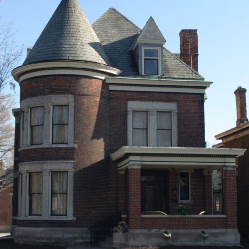Queen Anne maison dans l'Indiana