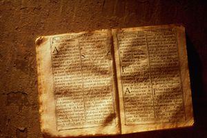 Old Bible in Latin