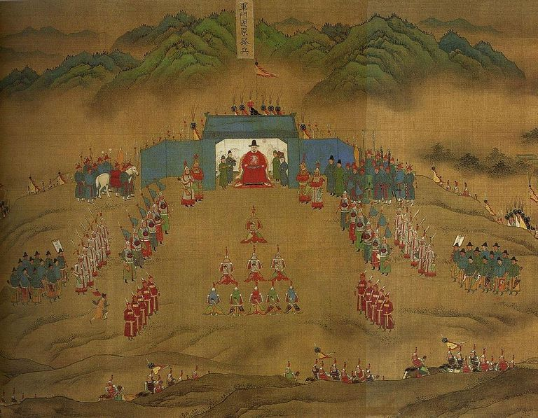 Ming Army in Korea during Imjin War