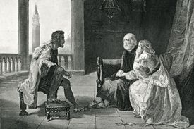 Othello Relating His Adventures