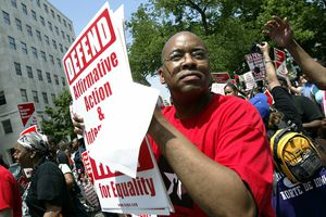 Protesters March On Washington To Mark 50 Year Anniversary of Brown vs. Board Of Ed