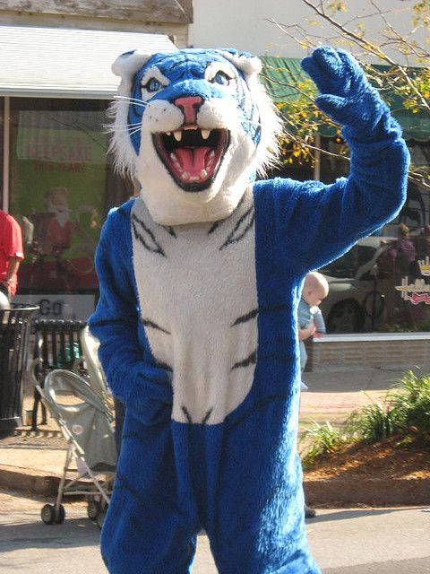 Lincoln University Blue Tiger