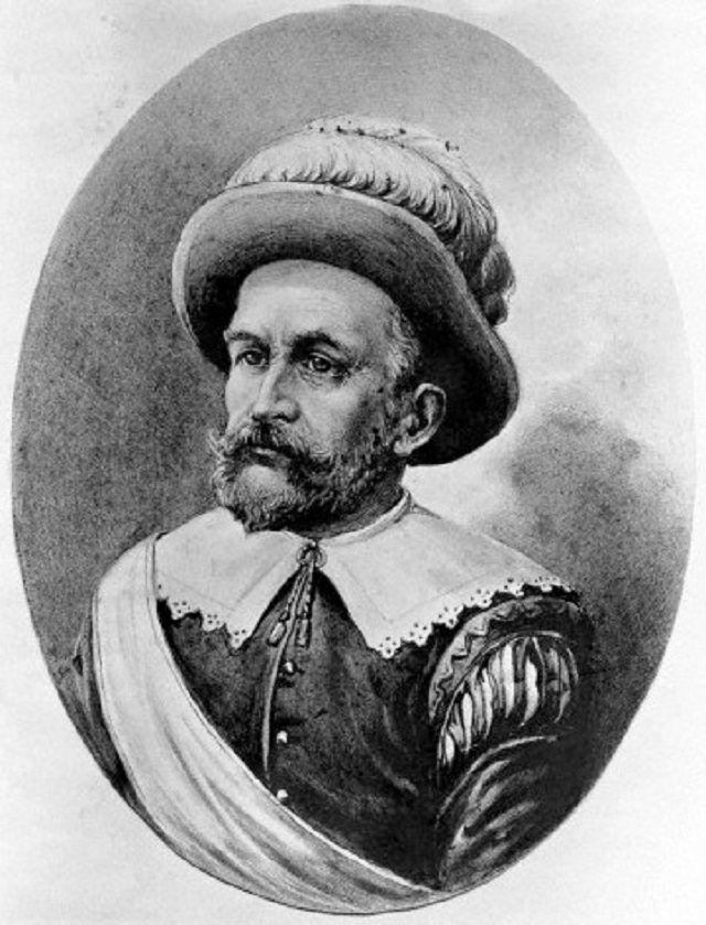 Portrait of Peter Minuit.