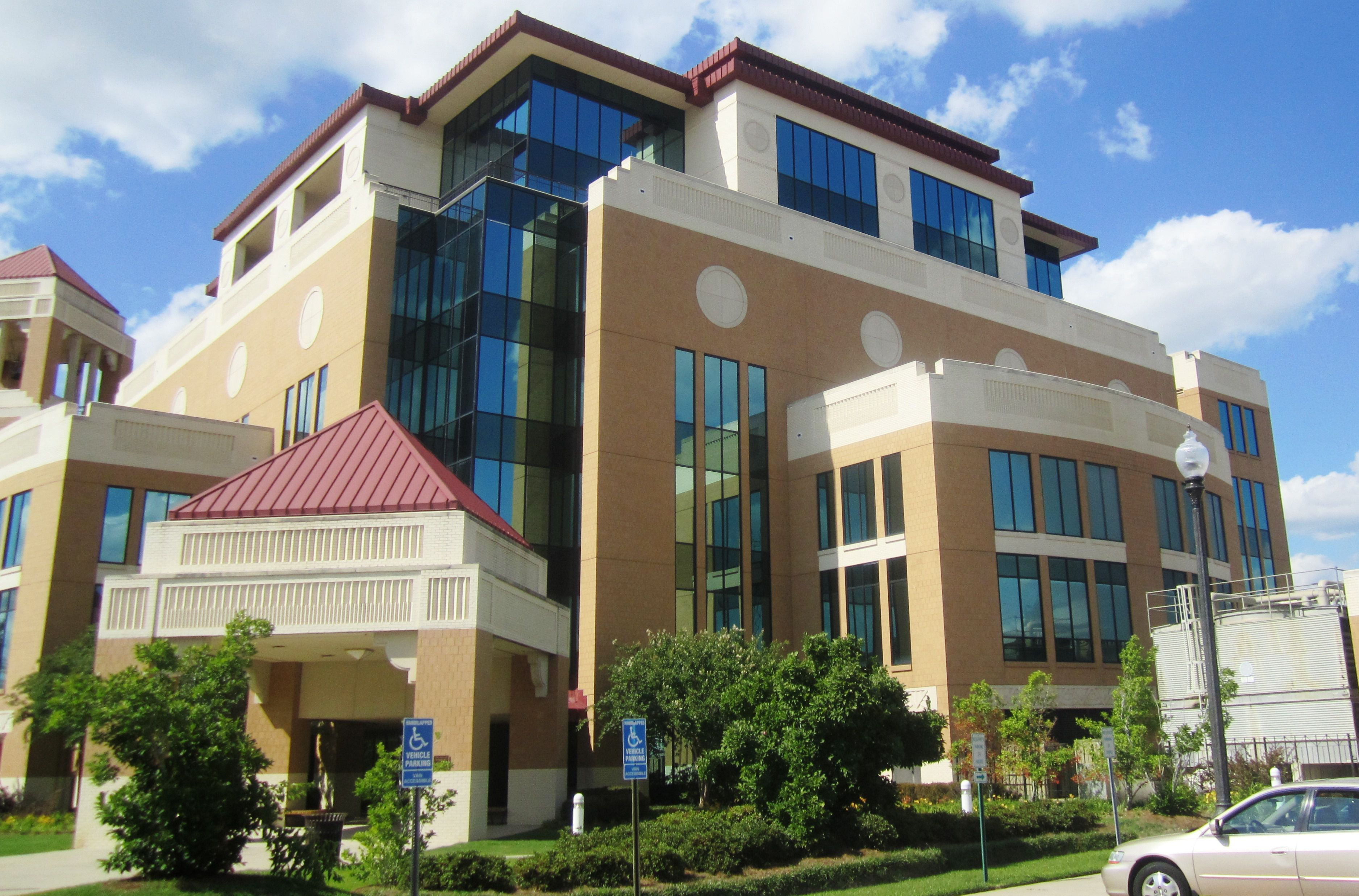 Library and Conference Center at the University of Louisiana at Monroe