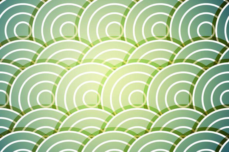 Circular geometric pattern in SVG format